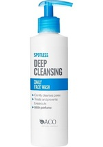 ACO Spotless Daily Face Wash 200 ml / 6.76 oz Oily Skin, Dead Skin & Pores - $19.40