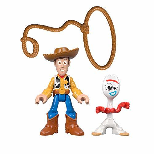 Primary image for Fisher-Price Disney Pixar Toy Story 4 4, Woody & Forky