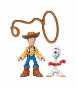Fisher-Price Disney Pixar Toy Story 4 4, Woody & Forky - $6.57
