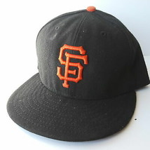 New Era 59Fifty San Francisco SF Giants Fitted Cap Hat Size 7-3/8 58.7cm - ₹1,896.43 INR