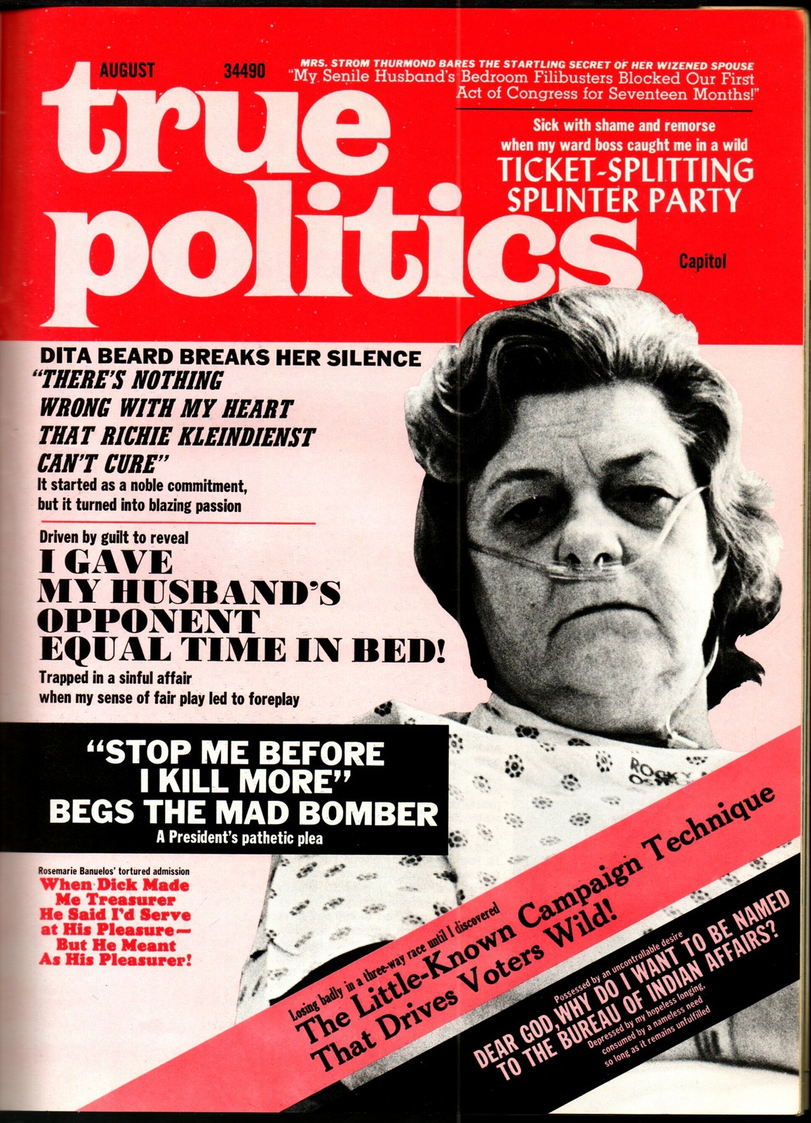 National Lampoon #29, Aug 1972 - Democracy issue