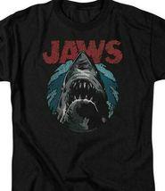Jaws retro 70's 80's thriller movie Amity Island graphic t-shirt UNI994 image 3
