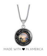 Great Father To Wonderful Daughter - Inspiration Necklace Gift Idea for ... - $31.95