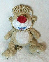 Plush Laughing Lion 2014 Tickle Toes Tan White Soft Stuff Animal Toy Christmas - $19.79