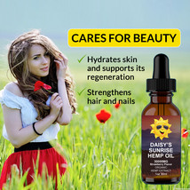 Daisy's Sunrise Hemp Oil 30000 Mg Pain Relief, Anxiety & More Strawberry... - $19.95