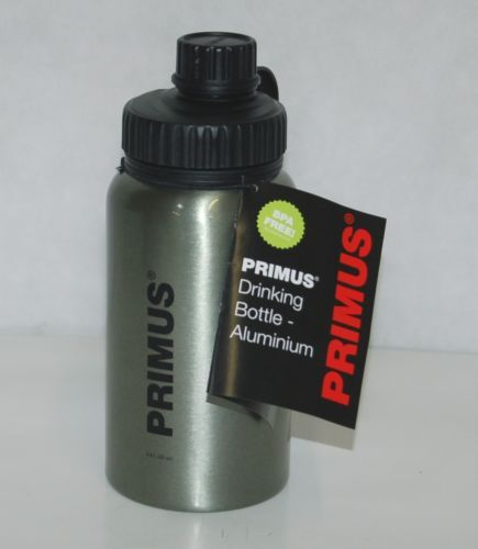 Primus 735200 Aluminum Camping Water Bottle Titanium Color