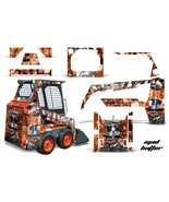 Graphics Kit Decal Wrap For Bobcat Skidsteer Mini Loader Skid Steer HATT... - $395.95