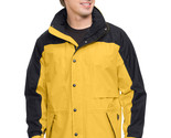 Tri-Mountain Climax 9300 Colorblock nylon parka - Yellow Gold /  Black