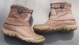 Merrell womens boots Dewbrook Brown Performance Waterproof Insulated 8 - $73.26