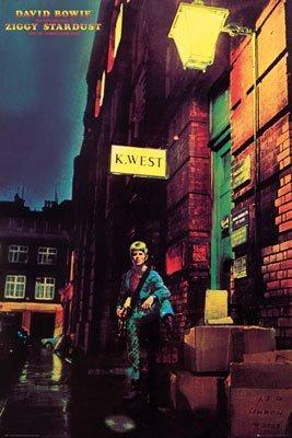 Ziggy stardust poster 24x36
