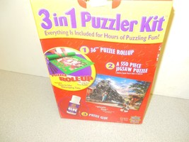 Masterpiece 3 In 1 Puzzle Kit Plus Whistle Stop Puzzle - $3.71