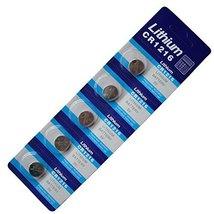 Generic 5 X Cr1216 Br1216 1216 3V Lithium Batteries - $4.51