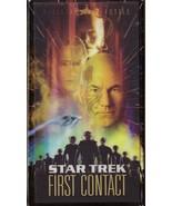 Star Trek First Contact VHS Patrick Stewart Alice Krige Alfre Woodard - $1.99