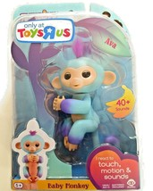 "Fingerlings ""Ava"" Ombre Baby Monkey Toys R Us Exclusive NEW Sealed Package - $21.49"