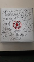 Steve Pearce Mookie Betts Jd Martinez 2018 Boston Red Sox Team signed  - $1,299.00