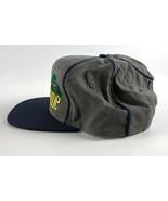 Notre Dame Fighting Irish Vintage Snapback Baseball Hat - The Game - Gray Blue - $24.74