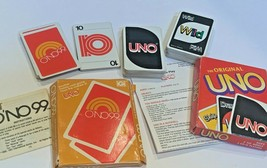 Vintage Set of 1992 UNO and 1982 O'NO 99 Card Games - $18.76