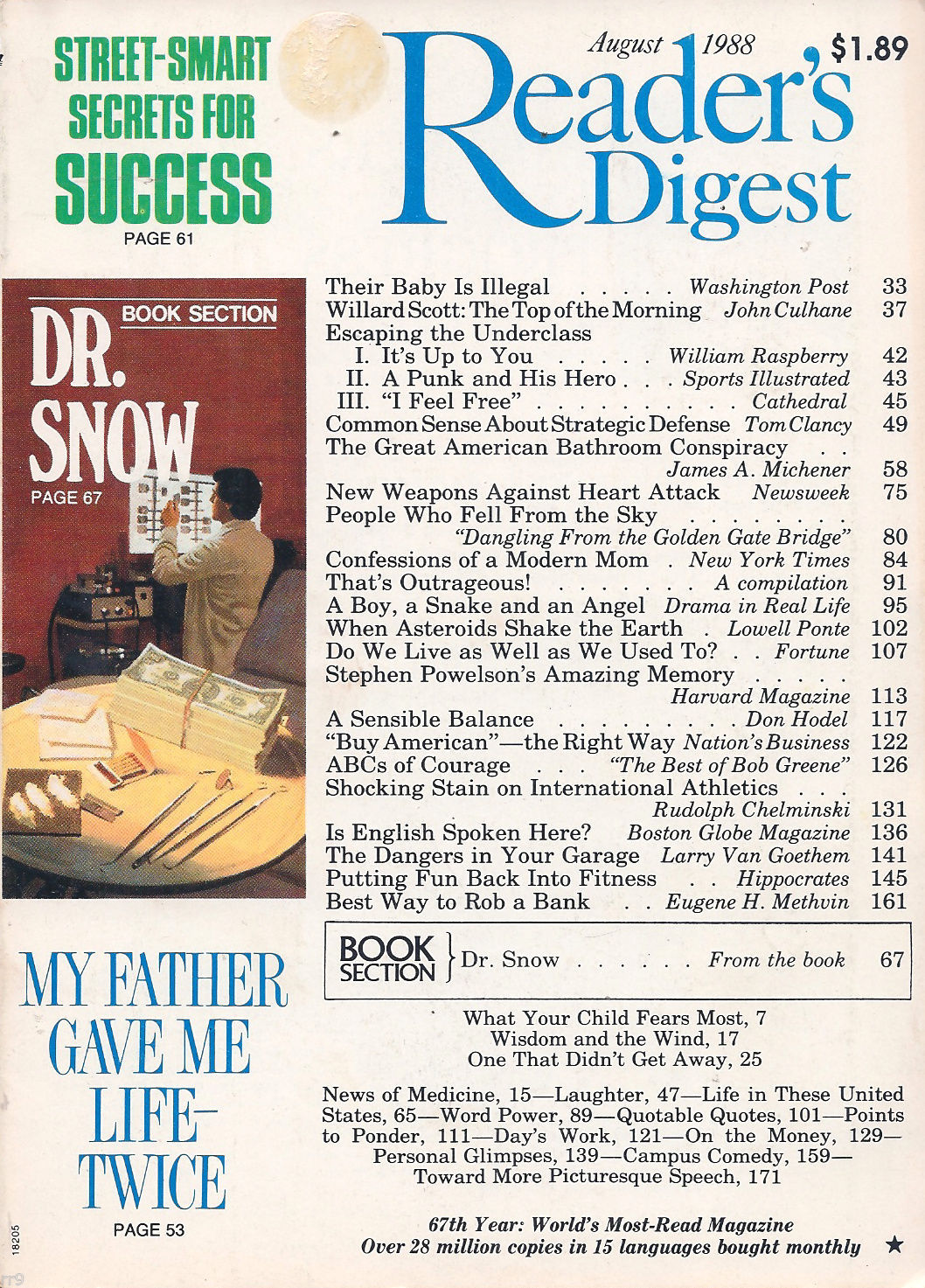 Primary image for Reader's Digest August 1988 Buy American