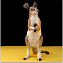 Lenox w/ Smithsonian Inst.~ BRIDLED NAIL-TAILED WALLABY  ~Endangered Bab... - $20.57
