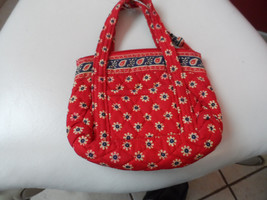Vera Bradley small handbag in retired Americana pattern EUC - $11.00
