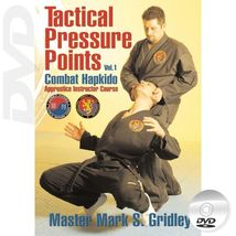 European Combat Hapkido Tactical Pressure Points Program #1 DVD Mark Gri... - $28.00