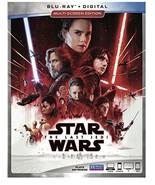 Star Wars: Episode VIII: The Last Jedi [Blu-ray + Digital, 2018] - $14.95
