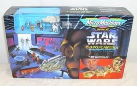 Micro Machines Star Wars C-3PO / Cantina Playset 1994 Galoob - $39.99