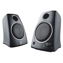 Logitech 980000417 Z130 Compact 2.0 Stereo Speakers, 3.5mm Jack, Black - $18.80