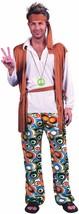 Hippy Man Plus Size, 1960s 1970s Mens Costumes, Fancy Dress #AU - $30.52