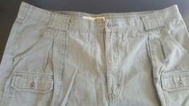 CABELA'S Hiker Outdoors Green Cargo Shorts Men's size 44 Hiking Hunting... - $9.49