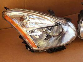 08-10 Nissan Rogue HID Xenon Headlights Set L&R - POLISHED image 3