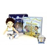 "A Hanukkah Tradition ""The Story of Funukkah"" Girl Plush Doll and Book Se... - $143.95"