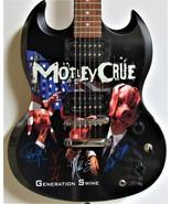 Motley Crue Autographed Generation Swine Guitar - $2,200.00