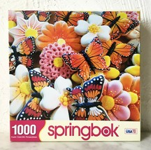 """Springbok Butterfly Cookies Jigsaw Puzzle 1000 - 24"""" x 30"""" Complete - $23.70"""