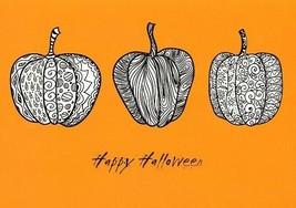 Three Pumpkins - Tree Free Greeting Card - 14507 - $2.96