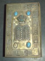 Lot of 3 Bible Siddur Hebrew Metal Binding Vintage Prayer Book Judaica Israel image 2