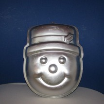 Wilton snowman w/ hat face head cake pan mold winter Christmas  # 2105 - $9.99