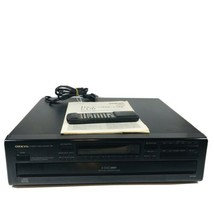 Onkyo DX-C320 Compact Disc 6 CD Changer W/ Remote & Manual - Working **READ** - $59.35