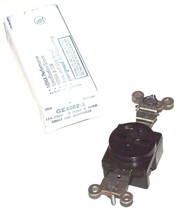 LOT OF 19 NEW GENERAL ELECTRIC GE4069-1 SINGLE GROUND RECEPTACLES GE40691 image 2