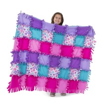 Melissa & Doug Created by Me! Flower Fleece Quilt - $46.53