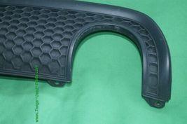 01-05 Audi TT S-Line Rear Bumper Honeycomb Grill Exterior Trim 8N0-807-421-E image 3