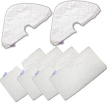 6 Refill Steam Mop Replacement Pocket Pads For Shark S3501 S3601 S3901 S... - $19.55