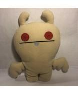 """UGLYDOLL pale yellow PICKSEY Plush stuffed animal toy 14"""" 2010 - $14.99"""