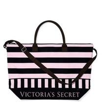 Victoria's Secret Limited Edition  Pink/black GETAWAY  Bag Tote  NWT $99. - $39.59