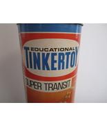 Vintage Tinkertoy Questor Super Transit #146 Construction Wood Education... - $39.89