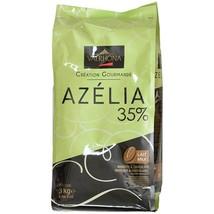Valrhona Azelia Milk Chocolate Pistoles - 35% - 1 bag - 6.6 lbs - $157.85