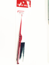 ANNIE HAIR TEASE BRUSH WITH POINTY TIP FOR SECTIONING #2150 RED COLOR
