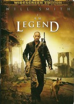 I Am Legend DVD Will Smith Widescreen - $2.99