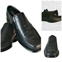 Dockers Men's All Motion Comfort Black Leather Slip On Loafers Size 10M - $29.70