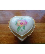 Porcelain Collector Heritage House 'Love Me Tender' Music Trinket Box - $21.78